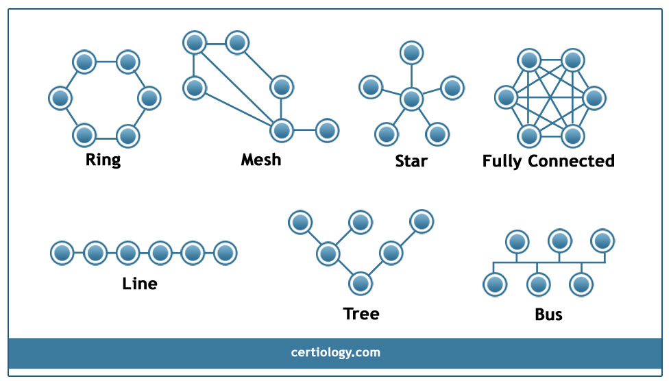 Network topology star bus ring topology tree hybrid and network topology ccuart