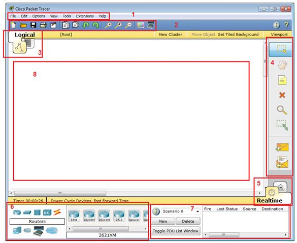 using packet tracer